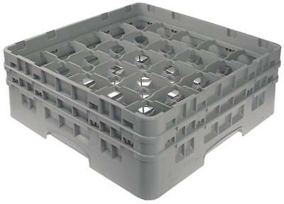 Cambro Glass Rack Width 500mm Fächergrösse 89x89mm 25 Glasses Height 183mm