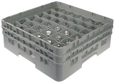Cambro Glass Rack Width 500mm Fächergrösse 73x73mm 36 Glasses Height 183mm