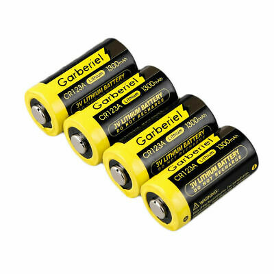 5 - Pack Garberiel CR123A 3 Volt Lithium Batteries USA Exp 2027 - FREE SHIPPING