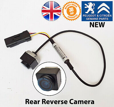 Citroen C4 Cactus DS3 C3 Berlingo Rear Reverse Parking Obstacle Camera Genuine