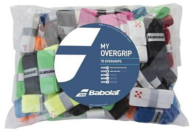 Babolat My Overgrip Tennis Grips Racquet Racket Overgrip Bag of 70 Pack
