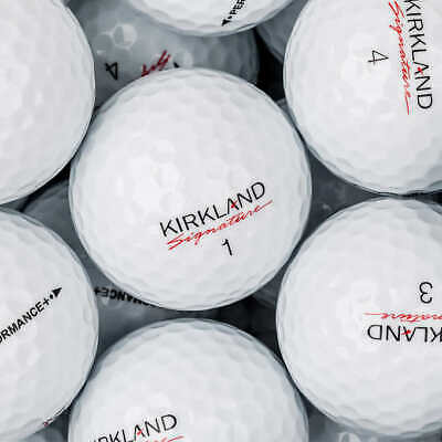 50 Kirkland Signature Performance Plus Mint Used Golf Balls Free Shipping