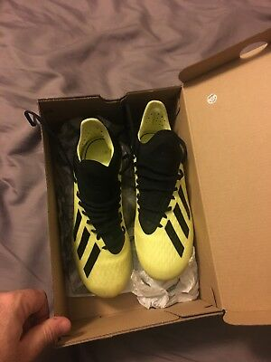 859a6f15cb46 Adidas X 18.1 Fg Junior Soccer Cleats Football Boots KIDS Shoes 2.5y Messi  Youth