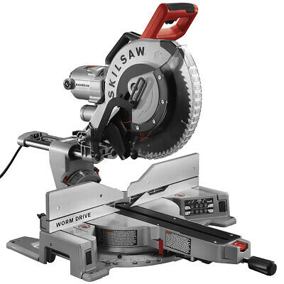 Skilsaw-SPT88-01 12 In. Worm Drive Dual Bevel Sliding Miter Saw
