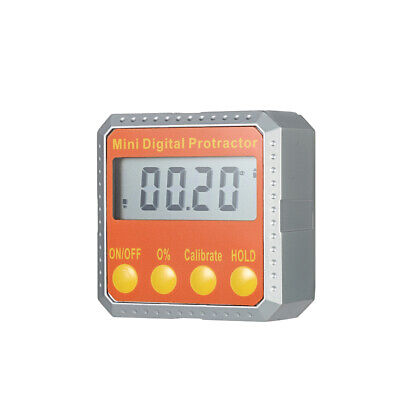 Portable 360° Mini LCD Digital Protractor Angle Finder Data Hold Function M9X1