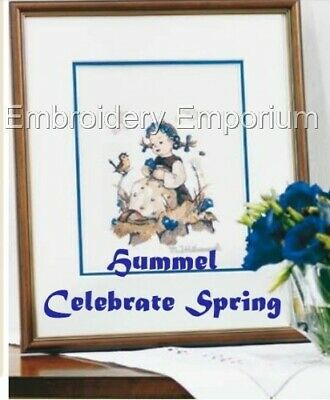 Hummel Celebrate Spring Collection - Machine Embroidery Designs On Cd Or Usb