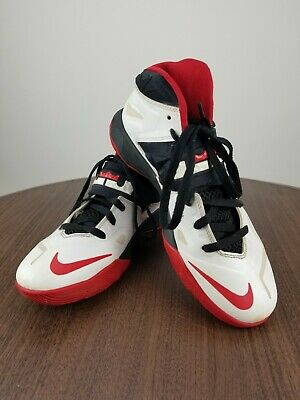e4daf09a369 Nike® Nike Lebron Zoom Soldier 7 White University Red Black 599264-100 Size  9
