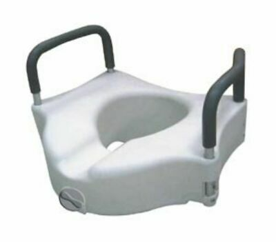 Drive Medical Locking Elevated Toilet Seat Rtl12027Ra