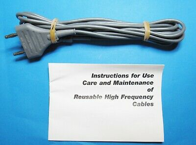 Storz 26176Lw Reusable Bipolar High Frequency Cord, Esu Electrosurgical Cable