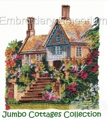 Jumbo Cottages Collection - Machine Embroidery Designs On Cd Or Usb