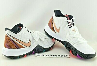 3c52c59a0755 Nike Kyrie 5 BHM - CHOOSE SIZE - BQ6237-100 Irving Black Bronze History  Month