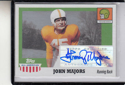 "2005 Topps All American Johnny Majors"" Tenn Volúmenes / Pitts.panthers"""