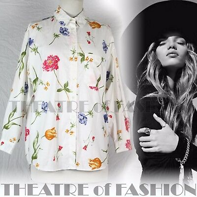 SHIRT VINTAGE DRESS LAURA ASHLEY WEDDING 10 12 14 16 BOHO VICTORIAN 40s 50s RARE