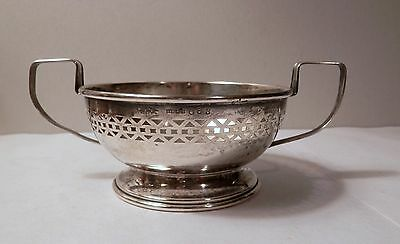 Vintage Baker Manchester Co Sterling Silver Liner for Lenox Bouillon Soup Bowl