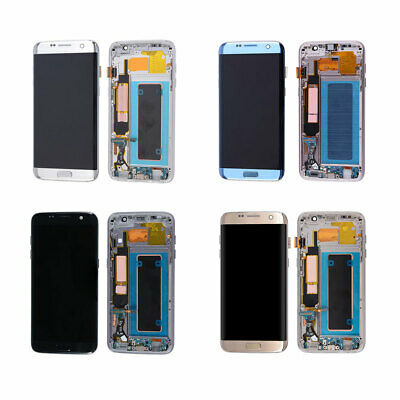 US LCD Touch Screen Display + Frame For Samsung Galaxy S7 Edge G935F/G935A/G935V