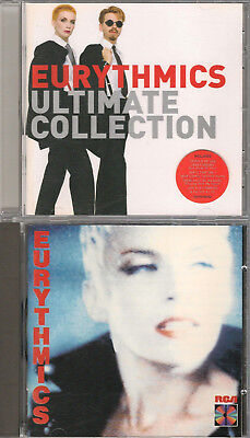 Bundle of 2 Eurythmics CD albums - Be Yourself Tonight & Ultimate Collection