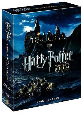 HARRY POTTER : Complete 8-Film Collection (DVD, 2011, 8-Disc Box Set) FREE SHIP