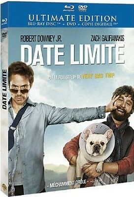 Combo Blu Ray + DVD  //  DATE LIMITE  // Robert Downey Jr  /  NEUF cellophané