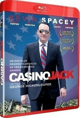 Blu Ray  //  CASINO JACK  //  Kevin Spacey - Kelly Preston  /  NEUF cellophané