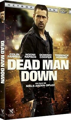 DVD  //  DEAD MAN DOWN  //  Colin Farrell, Noomi Rapace  /  NEUF cellophané