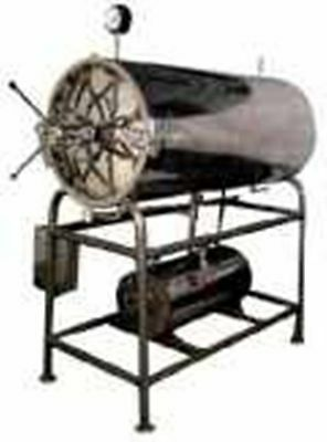 AUTOCLAVE HORIZONTAL (Cylindrical with Separate Boiler)