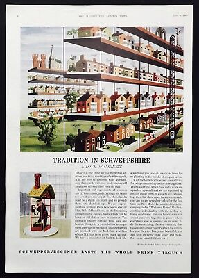 SCHWEPPES - Tradition in Schweppshire (No.4) - Vintage Advert (8 June 1963)*