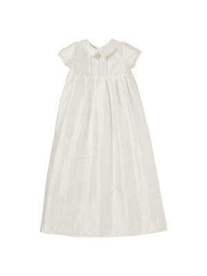 John Lewis & Partners Unisex Long Christening Gown / Cream 6-9 Months Brand New