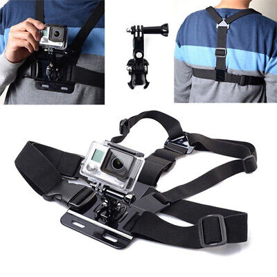 Chest Mount Harness For Go Pro Hero 5 4 Action Chesty Strap Go Pro Sport Camera