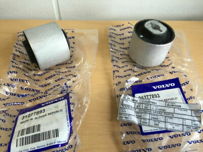 Genuine Volvo Rear Suspension Trailing Arm Bush - Pair - Xc90 V70 S60 S80 Xc70