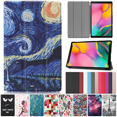For Samsung Galaxy Tab A T515 T510 2019 10.1 Smart Leather Flip Stand Case Cover