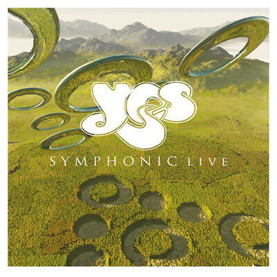 "Yes : Symphonic Live VINYL 12"" Album (Limited Edition) 2 discs (2019) ***NEW***"