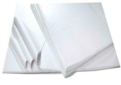 500 Sheets White Acid Free Tissue Paper- 375 x 500mm Protective Wrapping Filling