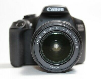 Canon EOS 1300D Digital SLR Camera Kit with Lens EF-S 18-55mm III T6  MINOR USE