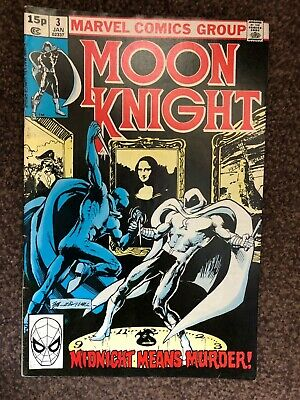 Marvel Comics Moon Knight #3 January 1981