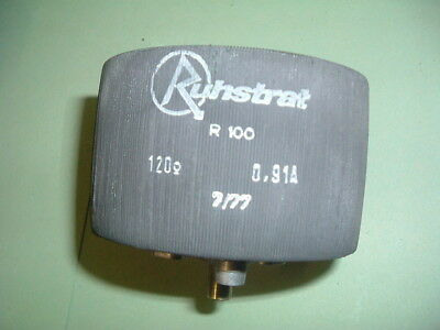 Ruhstrat.... R100..... Variable Resistor.120 Ohms 0.91 Amps.....     New  Packed