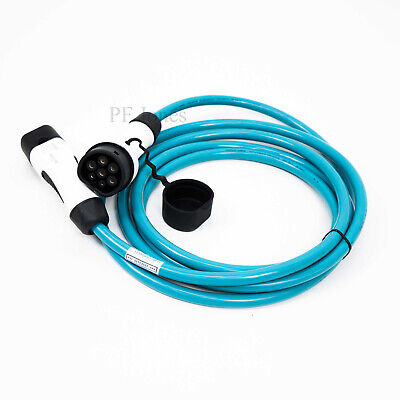 8m (Straight) 32 Amp Type 2 to Type 2 EV Charging Cable