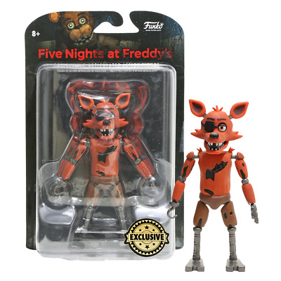 New Five Nights At Freddy's Foxy Glow In The Dark Figure Funko FNAF Official