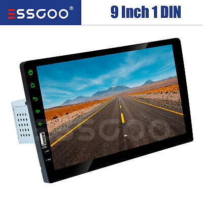 "1 Din 9"" Car FM USB AUX MP5 Player Touch Screen Stereo Radio Bluetooth TF Card"