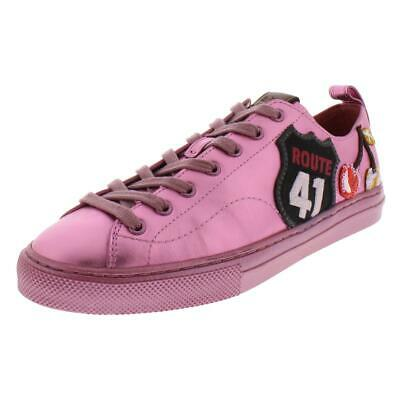 4ef29287 COACH WOMENS C125 Runner Leather Lace-Up Fashion Sneakers Shoes BHFO ...