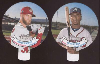 2019 Topps Heritage Baseball - Candy Lids - You Pick Numbers