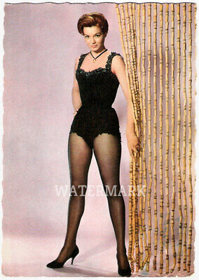 American Actress Angie Dickinson Vintage Full Color In Lingerie  Publicity Photo