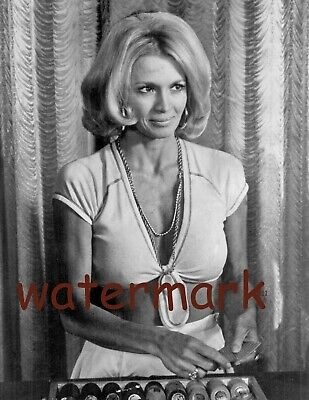 American Actress Angie Dickinson Older Short Hair Movie Scene Publicity Photo