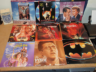 Laserdisc Lot ~ Make Your Own Lot ~ New Titles!