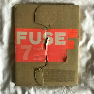 FUSE 7: CRASH. Rare Typography Magazine. Fonts and Posters by Neville Brody 1993