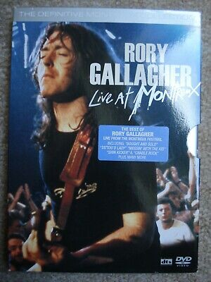 Rory Gallagher - Live At Montreux (DVD, 2006)