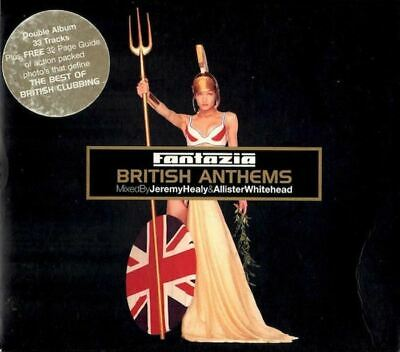 FANTAZIA - BRITISH ANTHEMS various (2x CD, Compilation) Mixed, House, Electronic