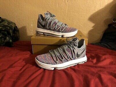 sports shoes b7b9d 950d4 Nike Zoom KD 10 X Grey Multicolor US Size 11. 897815-900 Kevin Durant