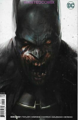 Dceased 1 (Of 6) Mattina Batman Horror Variant Cover Tom Taylor May 2019 Comic