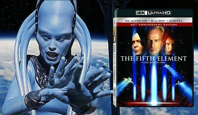 The Fifth Element (4K Ultra HD + Bluray, 2017, 2-Disc Set)