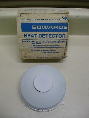New EST Edwards 281A 135F Fixed Temp Fire Alarm Heat Detector Head Free Shipping